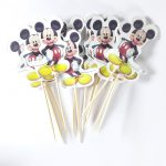 Cupcake Toppers-Mickey Mouse