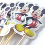 Cupcake Toppers-Mickey Mouse 2