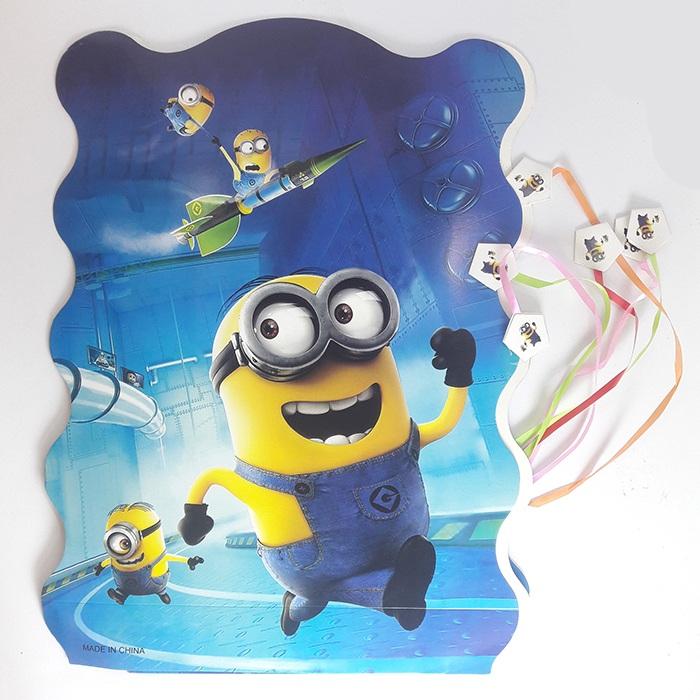 Pinata Minion Birthday Party Decoration
