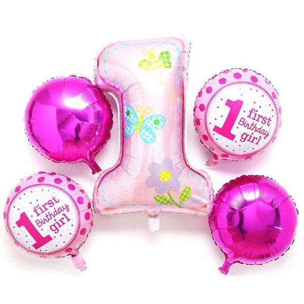 1st baby shower – pink 2