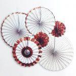 paper fan 6 set – white 2