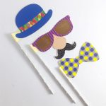 props – hats,bow & face A