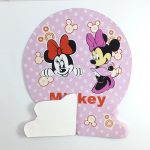 table decoration honeycomb – minnie mouse 1