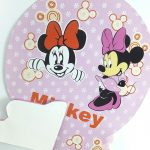 table decoration honeycomb – minnie mouse
