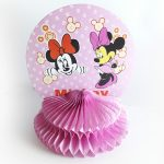 table decoration honeycomb – minnie mouse 5