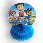 table decoration honeycomb – paw patrol 4