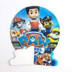 table decoration honeycomb – paw patrol 5