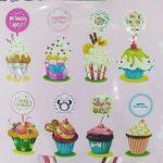Cake cupcakke topper 2