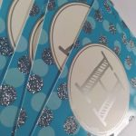 Happy birthday letter party flags – blue 1