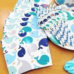 Theme box Whale Blue 2