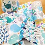 Theme box Whale Blue 4