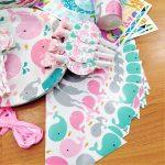 Theme box Whale Pink 6